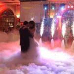 Прокат генератора тяжелого дыма на водной основе, тяжелый стелящийся дым на свадьбу