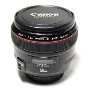 Аренда объектива Canon EF 50 mm f/1.2 L USM, прокат объектива Canon EF 50 mm f/1.2 L USM