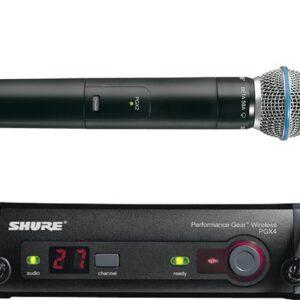 Прокат радиомикрофона SHURE PGX24/BETA58