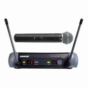 Аренда радиомикрофона SHURE PGX24/Beta58