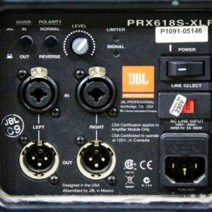 Прокат сабвуфера JBL PRX618S XLF