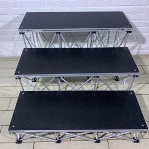 Прокат ступенек для подиума Intellistage 20, 40 и 60 см