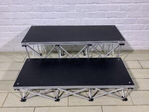 Прокат ступенек для подиума Intellistage 20 и 40 см