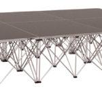Прокат подиума Intellistage для стола молодоженов 3х2 м