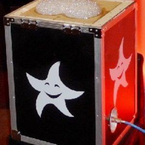 Аренда генератора летающих облаков-логотипов MINI - 37 СМ
