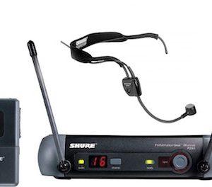 Прокат головного микрофона Shure PGX 14/ PG 30 R1, головная радиогарнитура