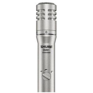 Прокат микрофона SHURE SM81