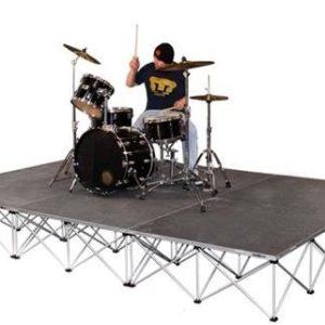 Прокат подиума для барабанов Intellistage 3х2 м