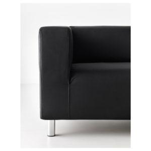 Прокат дивана черного КЛИППАН (Икея)