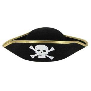 Аренда шляпы пирата. Прокат пиратской шляпы.