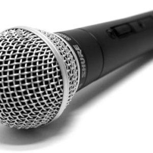 Прокат микрофона SHURE SM58